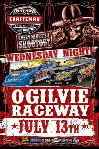 World of Outlaws Craftsman Late Models Wednesday July 13th