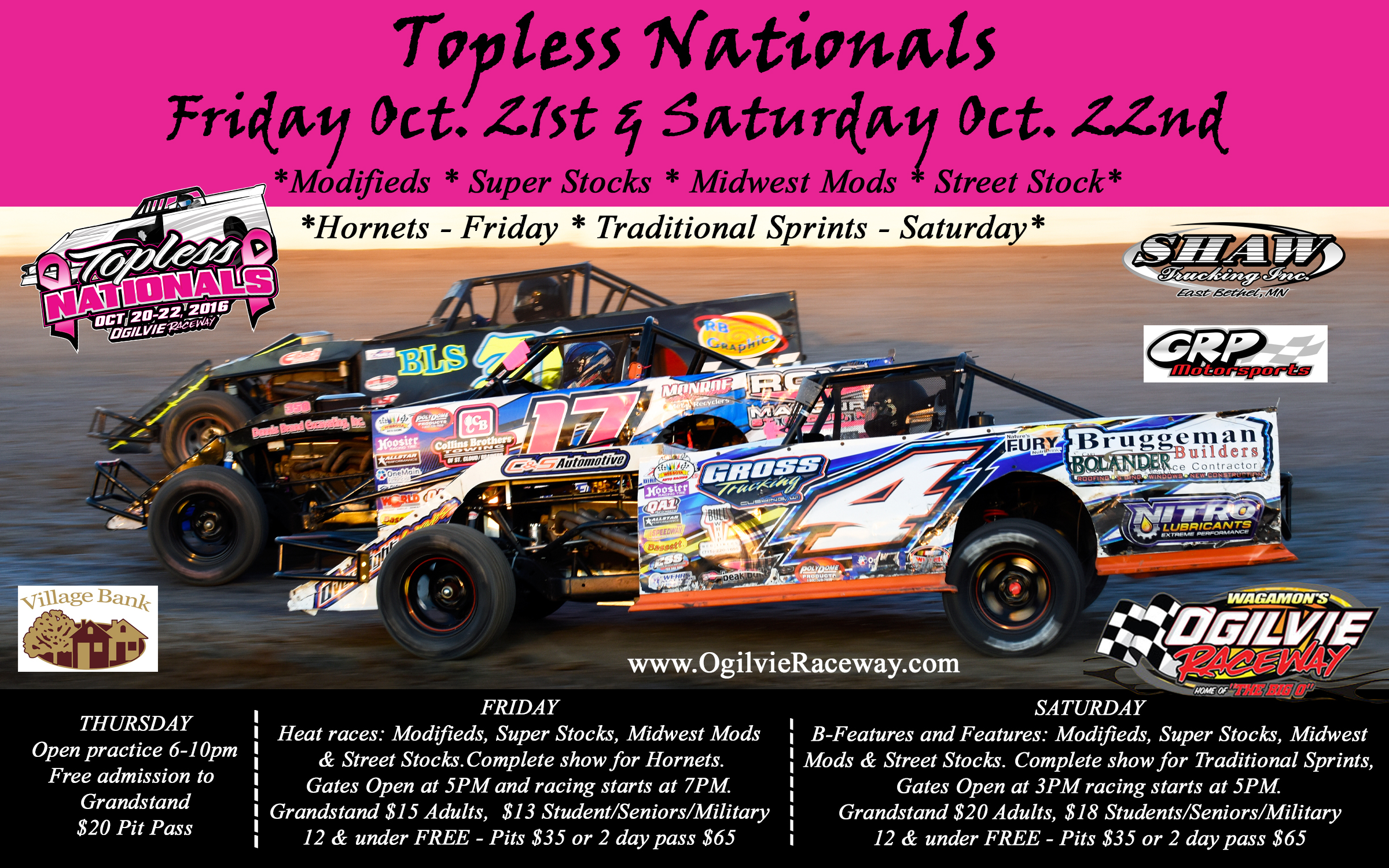Topless Nationals – October 20th – 22nd
