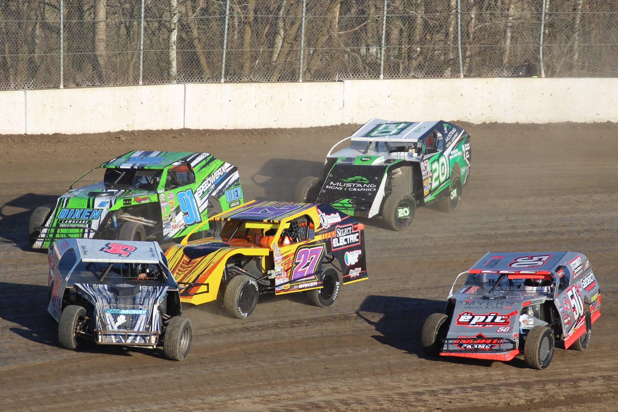 April 22 2017 Exceptional Racing And 150 Cars Ogilvie Raceway