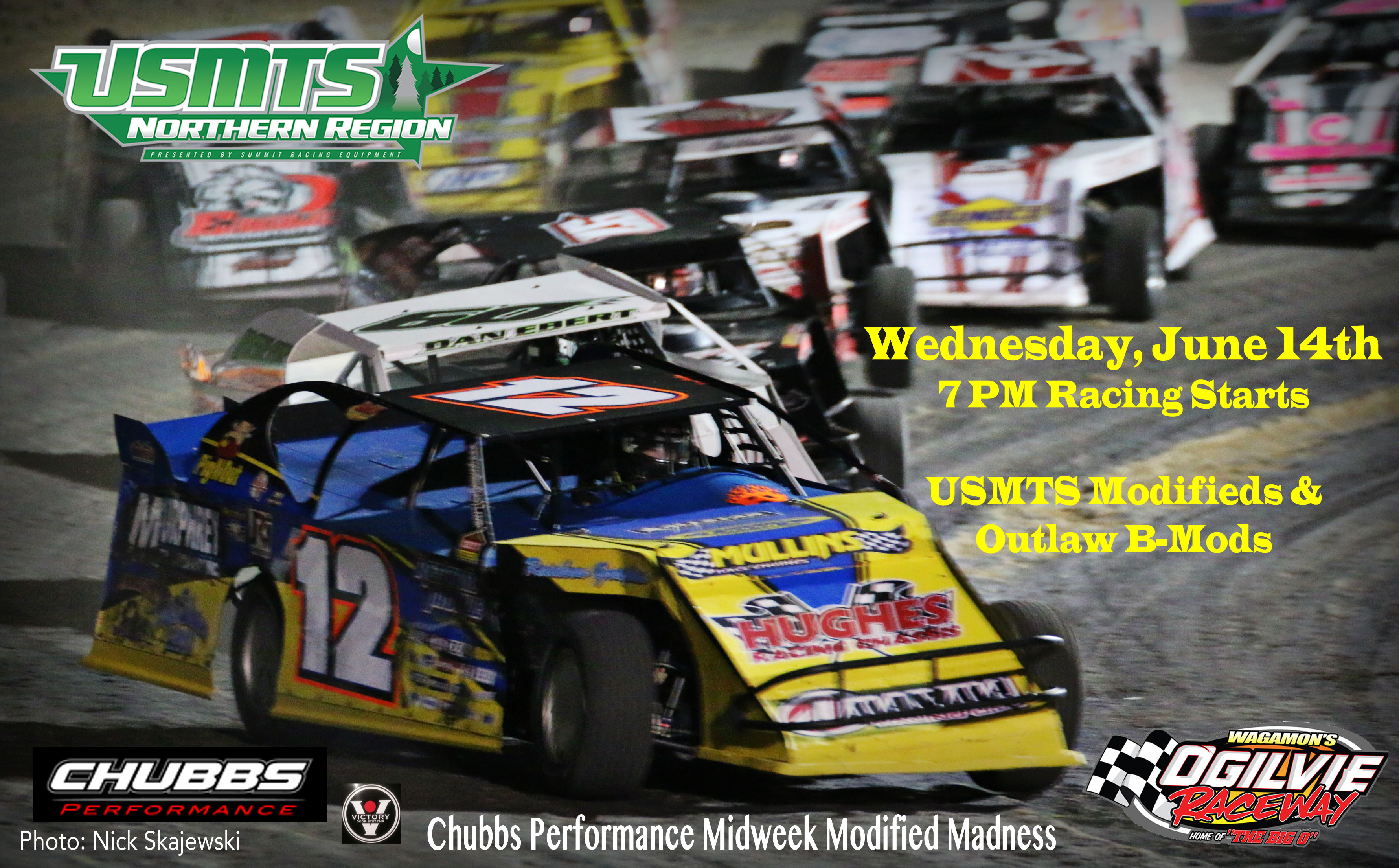 Midweek Modified Madness – WEDNESDAY, JUNE 14th – USMTS and Unsanctioned B-Mods