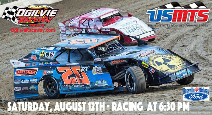 USMTS hits The Big O for the last time of 2017 on Saturday, August 12th w/ MWM, Street Stocks & Hornets