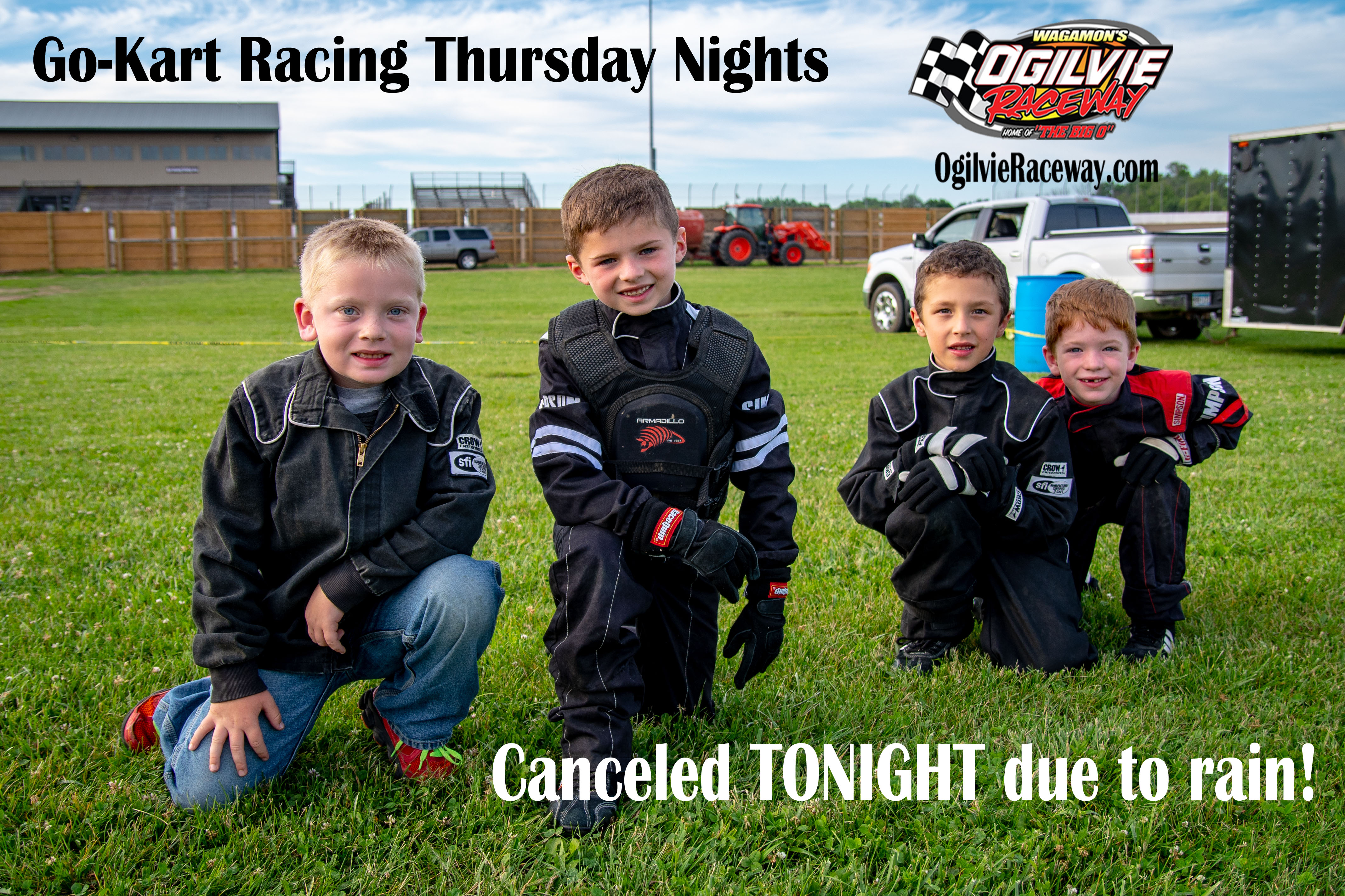 Go-Kart Racing for Thursday, July 19th CANCELED