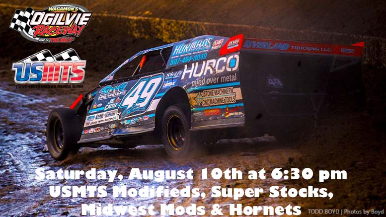 Races for TONIGHT are ON! USMTS, Super Stocks, MWM & Hornets!