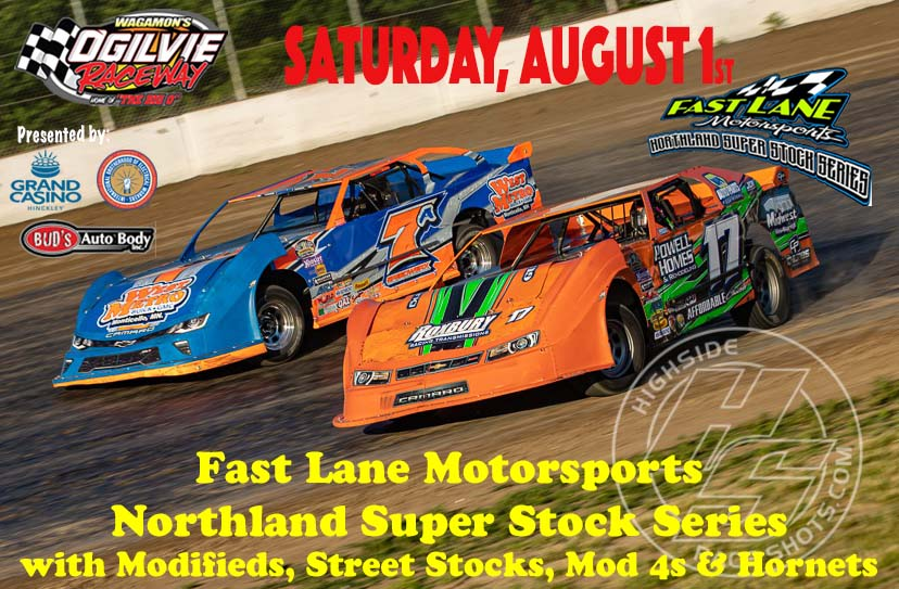 FastLane Super Stock Series Rescheduled for Saturday, Aug. 1st
