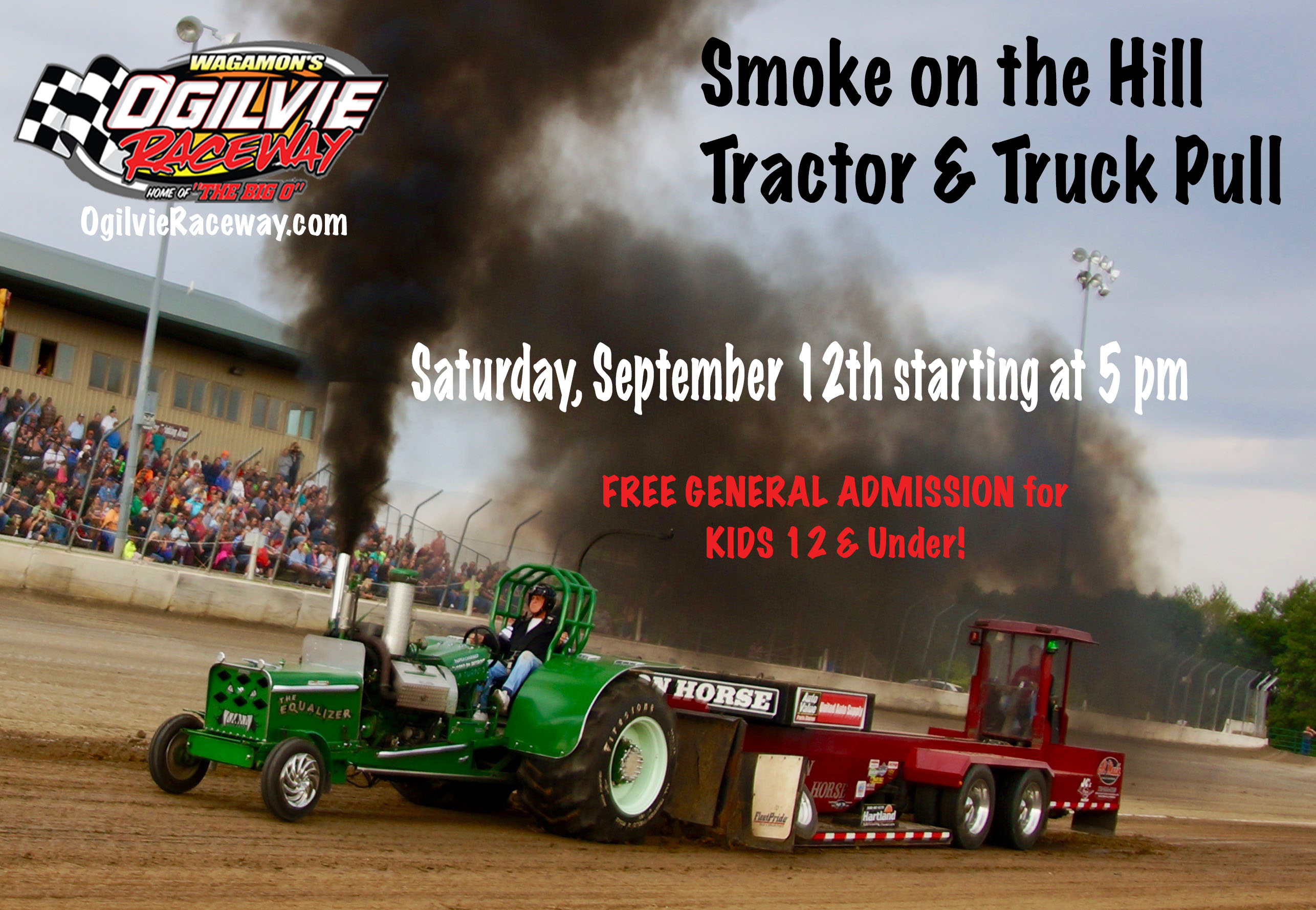 **CANCELLED**Smoke on the Hill Truck & Tractor Pull, Saturday, Sept. 12th