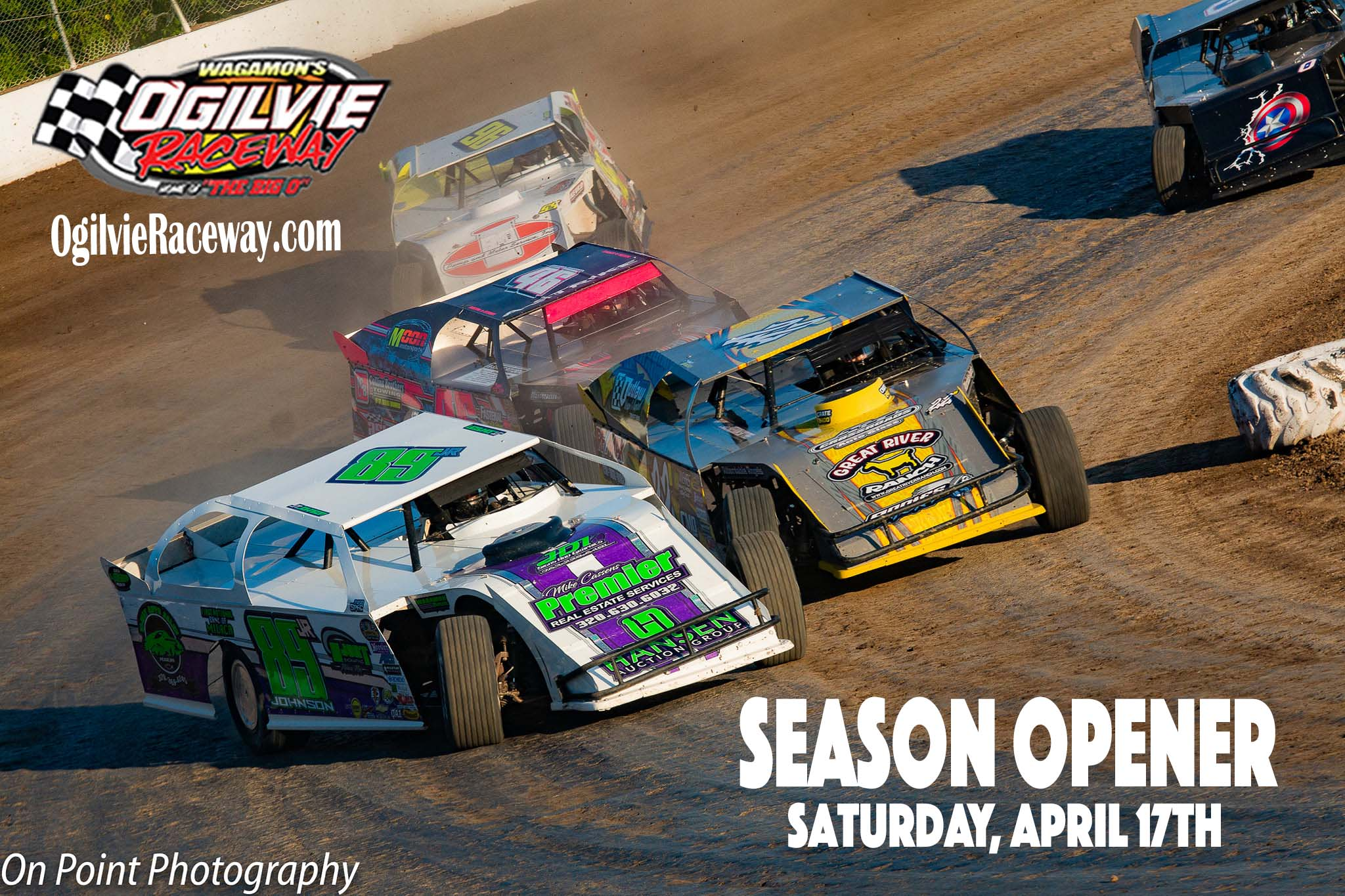 April 10th CANCELED due to rain – Opener now on April 17th
