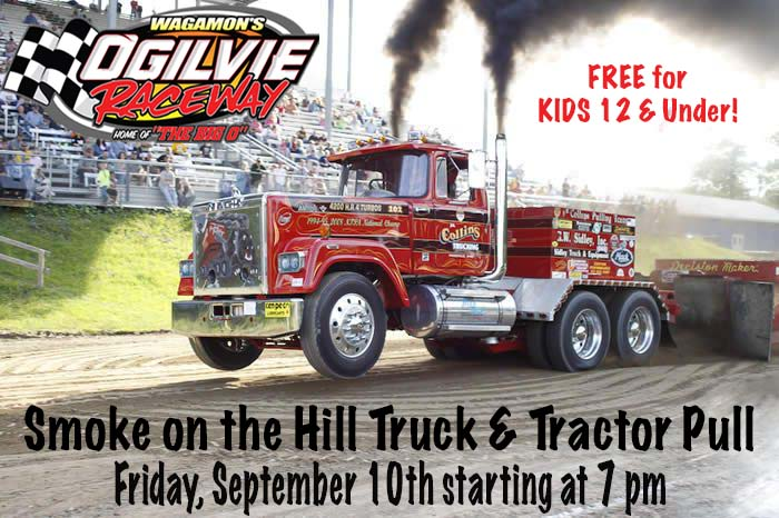 OPEN SEMIS now added to Smoke on the Hill Truck and Tractor Pull